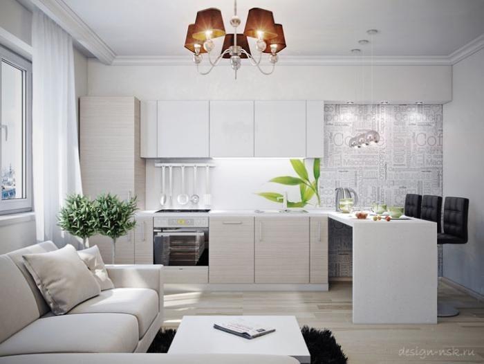 Дизайн однокомнатной квартиры в контакте